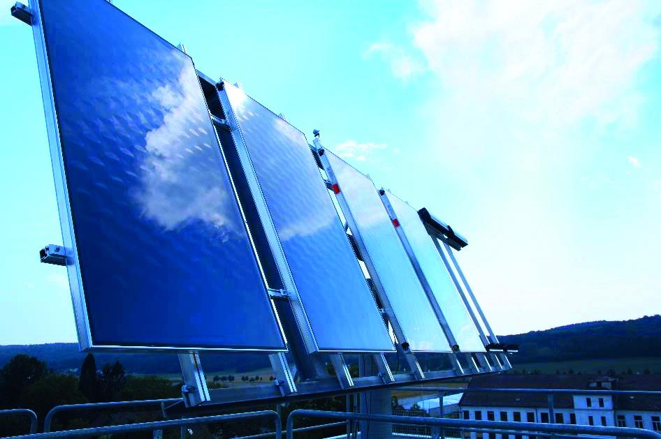 Solar-Teststand