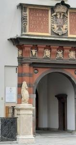 Schweizertor mit Europäischem Kulturerbesiegel