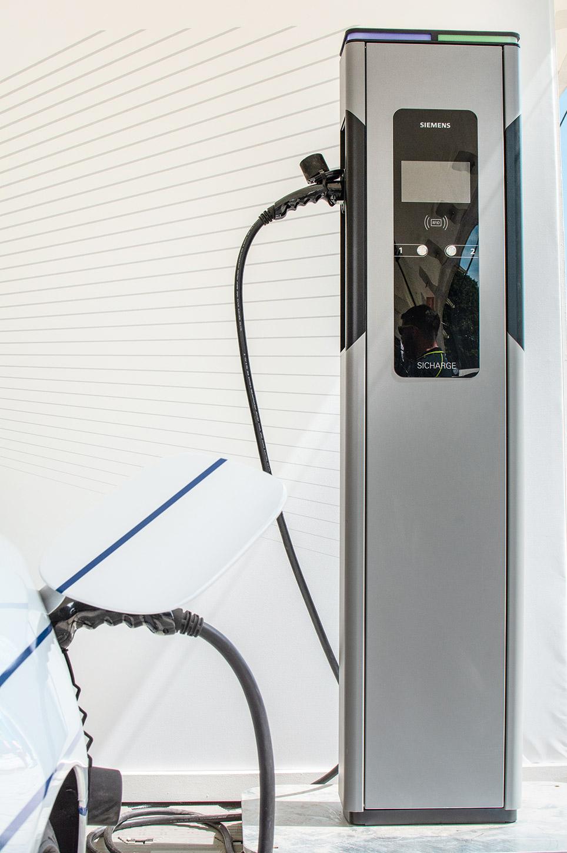 ladestation im microgrid