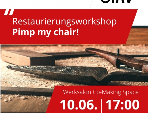 Restaurierungsworkshop- Pimp my chair!