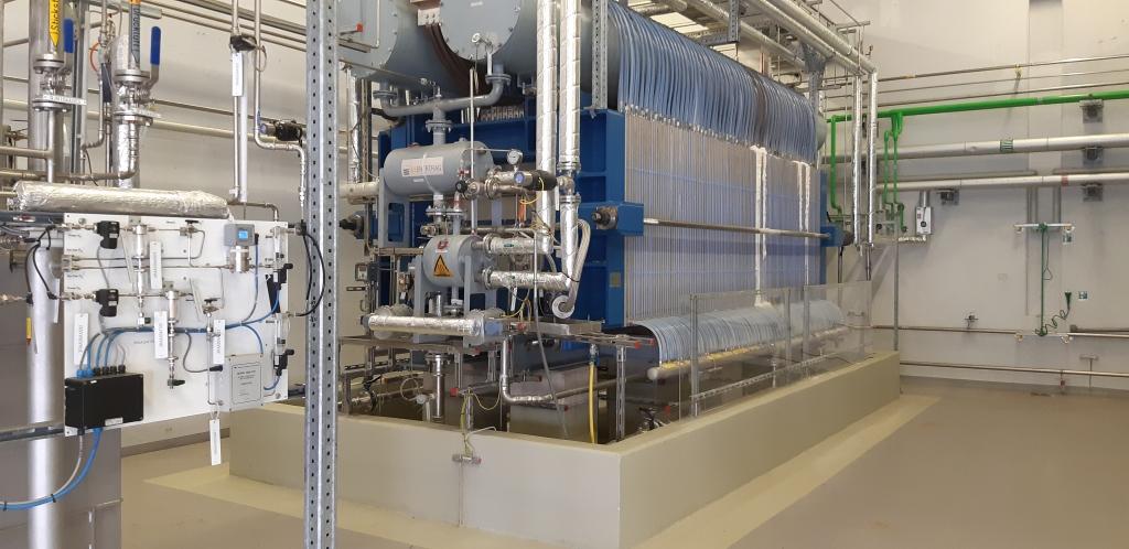 alkalischer Elektrolyseur, zur Erzeugung von Wasserstoff